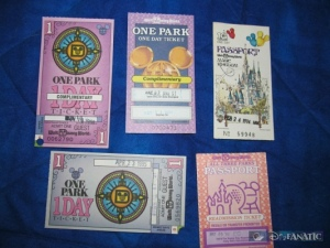 A Variety of Disney Passports