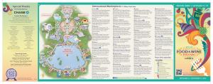 2013 Food and Wine Festival Map