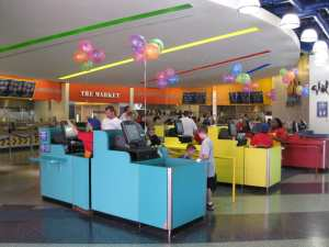 All Star Music Food Court