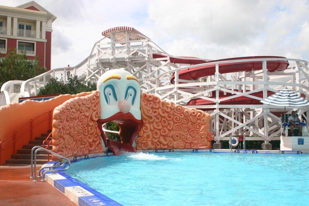 Top 5 Resort Pools at Walt Disney World (1/6)