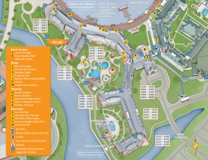 Boardwalk Resort Map