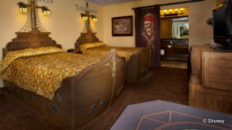 Caribbean Beach Pirate Room