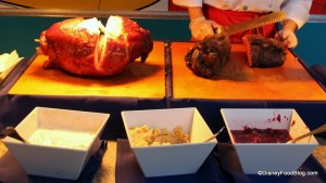 carving station (disney food blog)