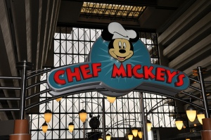 Chef Mickey Entrance