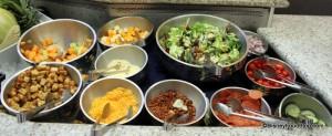 salad bar (disney food blog)