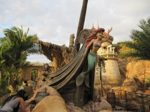 Ariel welcoming guests to her ride