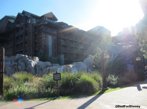 Exterior of Wilderness Lodge