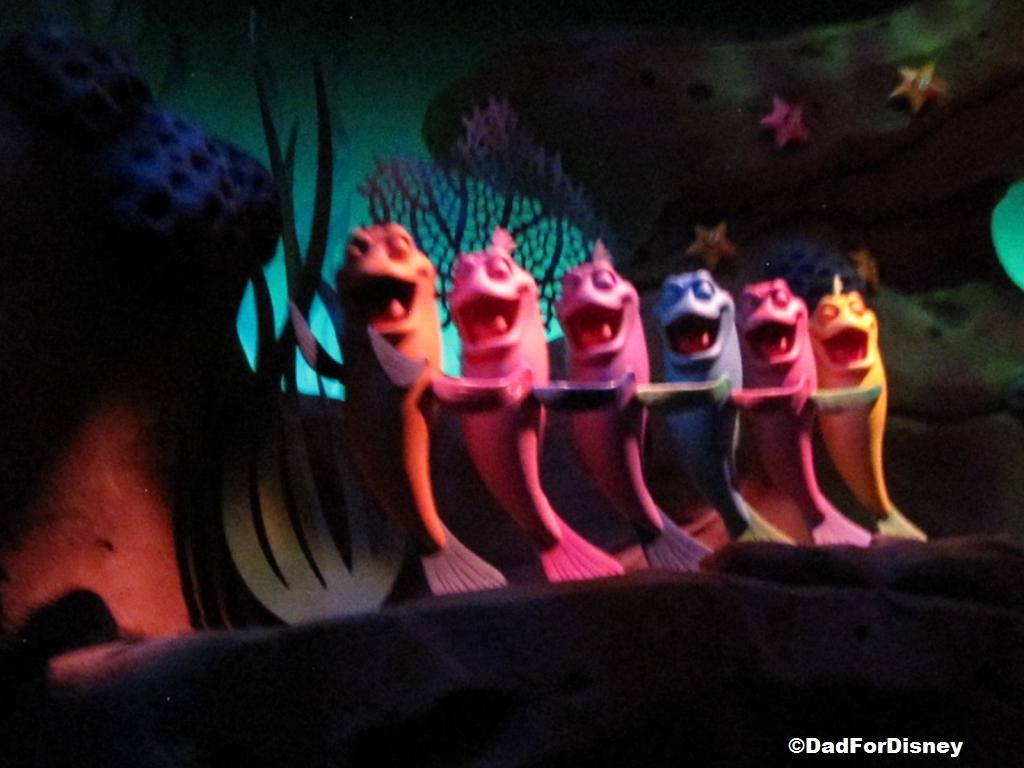 Under the sea journey of the little mermaid review for The little mermaid fish