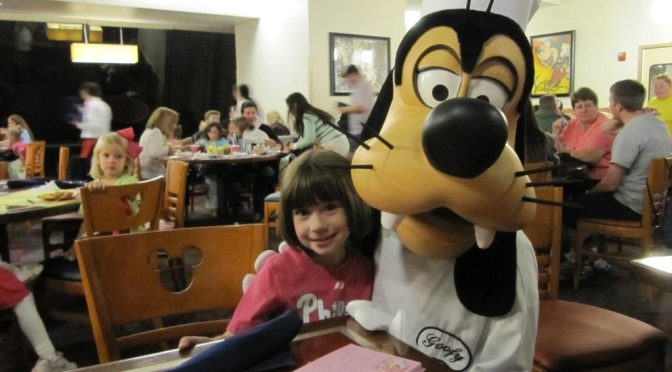Breakfast with the Big Five at Chef Mickey
