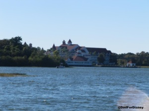 Grand Floridian from Bay Lake