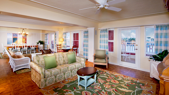 Walt disney world deluxe villa accommodations dadfordisney - 2 bedroom villas near disney world ...
