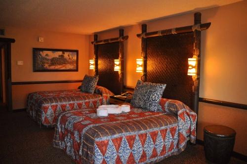 Disney Polynesian Resort Room Service Menu