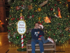 Wilderness Lodge Christmas Tree #1