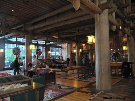 Wilderness Lodge Lobby #2