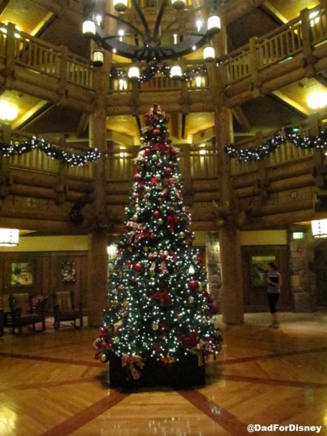 Wilderness Lodge Villas at Christmas