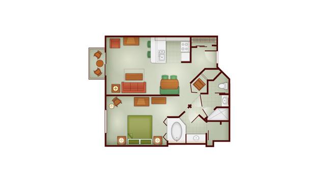 Walt Disney World Deluxe Villa Accommodations Dadfordisney