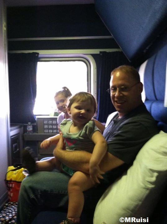 Riding The Auto Train Dadfordisney