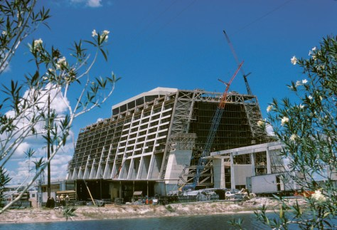 Contemporary under construction 1971