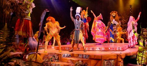 Festival of the Lion King Show
