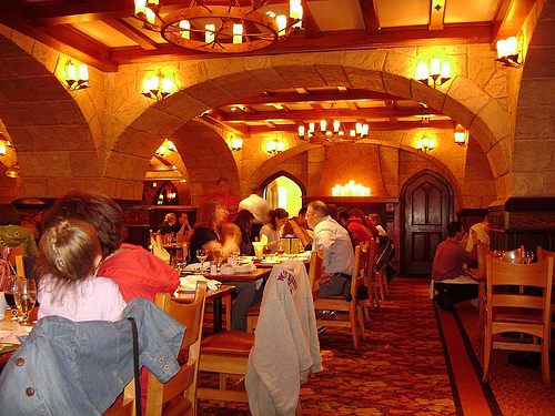 Most and Least Scenic Table Service Restaurants at Disney World (5/5)