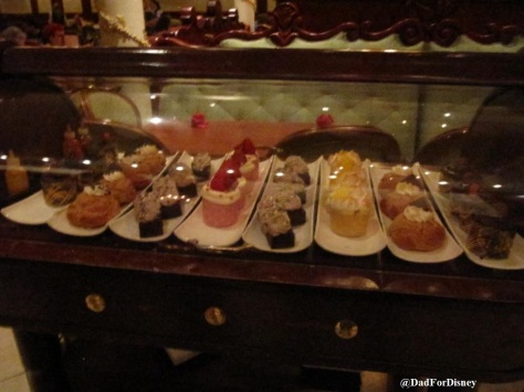 Dessert Cart at Be Our Guest