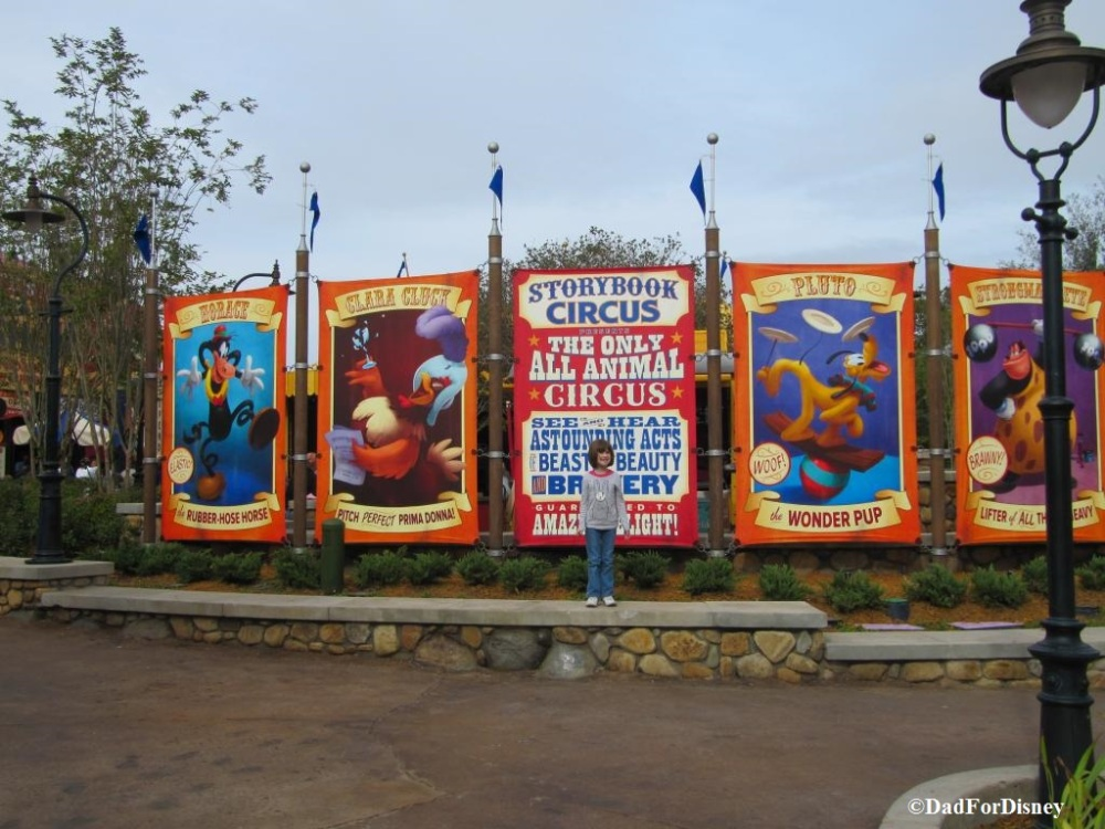 Storybook Circus Signs - Wordless Wednesday (3/5)