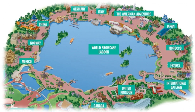 Imagineering The World Showcase Dadfordisney