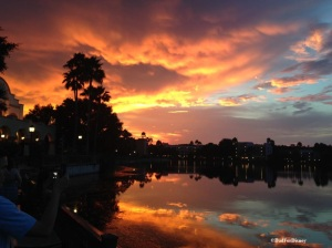 Sunset at Coronado Springs