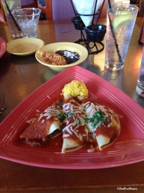 pork belly enchiladas