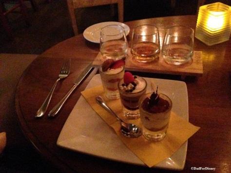 The Sweet Desserts Flight