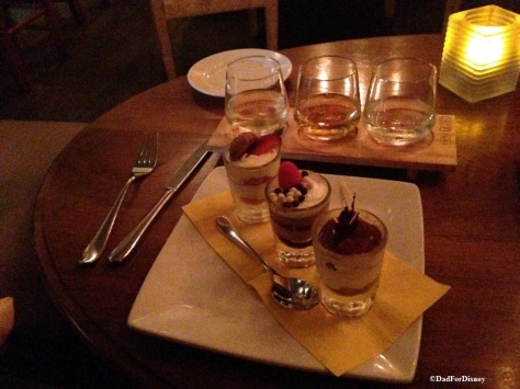 The Sweet Desserts Flight