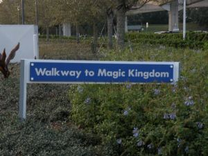 Walkway to Magic Kingdom