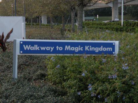 Walkway to Magic Kingdom