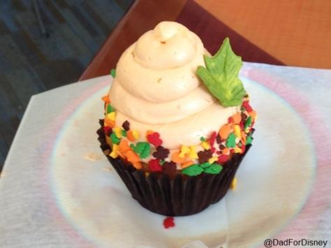 Pumpkin Caramel Cupcake