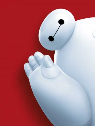 """Are you satisfied with your care?""  BAYMAX always thinking of others before thinking of himself."
