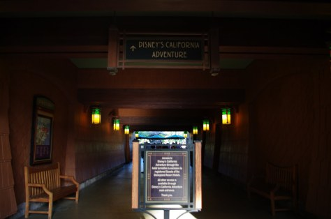 Grand Californian Park Entrance