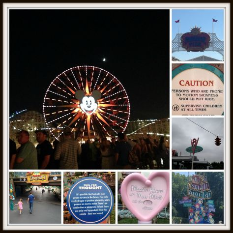 Signs for Disneyland