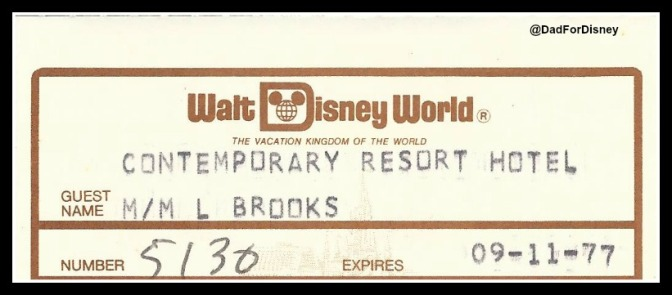 1977 Walt Disney World