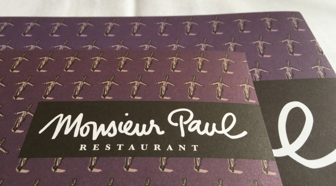 Dining at Monsieur Paul